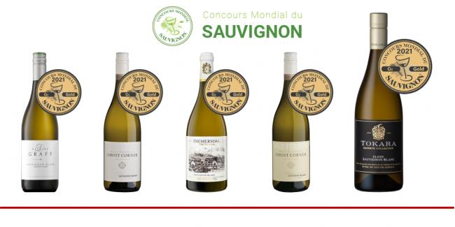 2021 Concours Mondial Du Sauvignon Awards