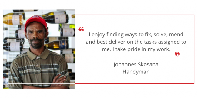 Johannes Skosana Website