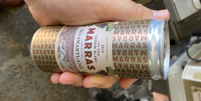 Marras Los Tros Chenin Blanc In A Can Rotate