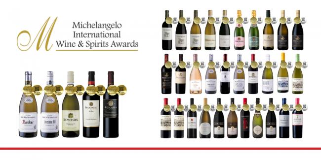 Michelangelo International Wine Spirits Awards Web Story